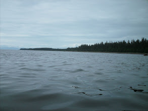 Photo: Approaching Cape Fanshaw in Frederick Sound.