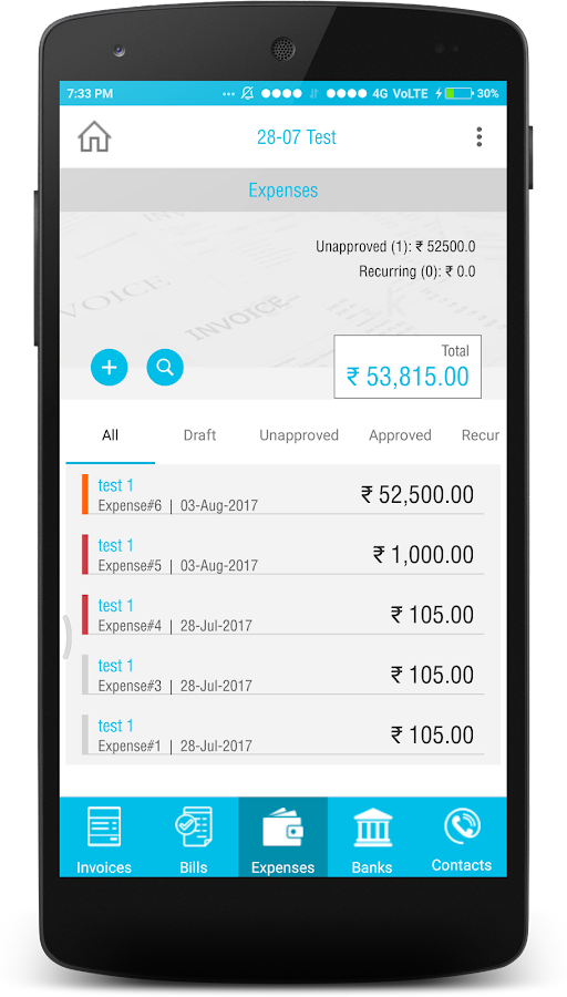 EasyTouch India - GST Accounting App- screenshot