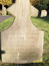 Photo: 40-William James, infant son of James & Mary Jane Pakeman, died February 8th 1863, aged 5 months