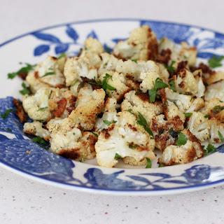 Crunchy Roasted Cauliflower.