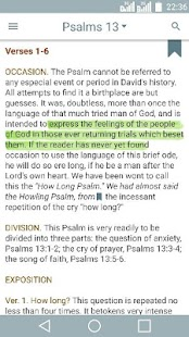 Bible Commentary on Psalms - náhled