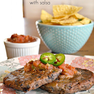 Black Bean Cakes with Salsa