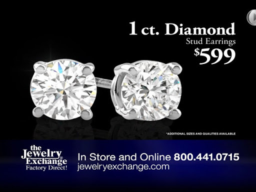 Diamond Stud Earrings Now Only 599 At The Jewelry Exchange In Or Online Jewelryexchange