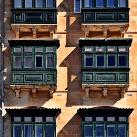 Balconies by Francis Xavier Camilleri - Buildings & Architecture Other Exteriors (  )