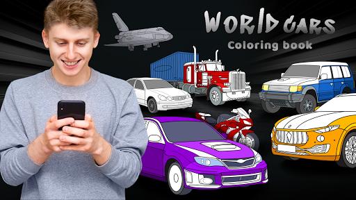 World Cars Coloring Book 1.16.4 screenshots 1
