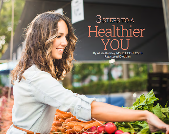 3 Steps to a Healthier You