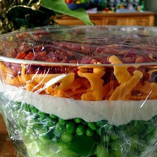 7 Layer Salad.
