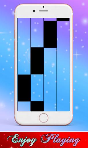 Daddy Yankee & Snow - Con Calma Piano Black Tiles screenshot 3