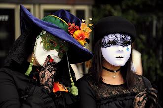 Photo: Tokyo - Harajuku Garden - Caramba ! je m'étais engagé à prévenir ces charmantes demoiselles par mail quand je mettrais leur photo en ligne. Elles m'avaient même offert un caramel pour cela, mais j'ai égaré leur carte de visite... si l'un d'entre vous les c