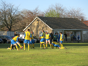 Photo: 30/04/13 v Dereham Town A (Central & South Norfolk League Division 1) 8-0 - contributed by Leon Gladwell
