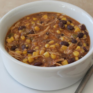 Crockpot Chicken with Black Beans and Corn Recipe