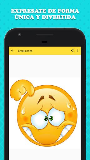 Emoticones para WhatsApp 1.1 screenshots 3