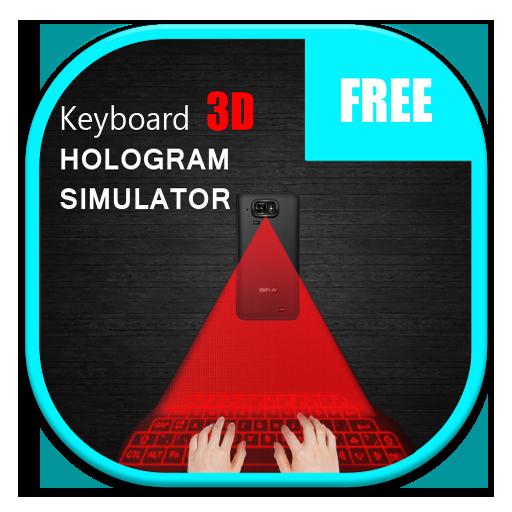 ホログラムキーボード3D 工具 App LOGO-APP試玩
