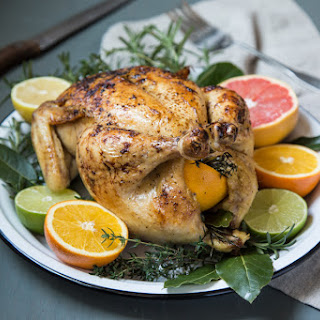 Citrus Roasted Whole Chicken