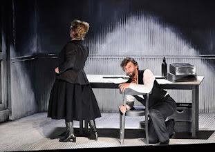 Photo: Salzburger Osterfestspiele 2015: CAVALLERIA RUSTICANA. Premiere 28.3.2015, Inszenierung: Philipp Stölzl. Stefania Toczyska, Jonas Kaufmann. Copyright: Barbara Zeininger