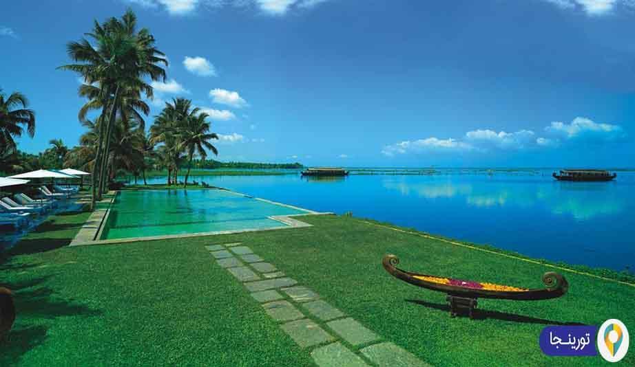 استراحتگاه دریاچه کوماراکوم کرالا