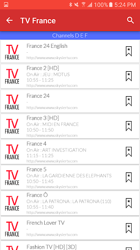 Download France Live TV Guide Google Play softwares