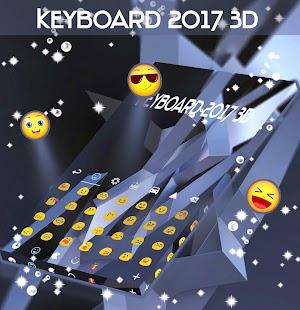 Klávesnice 2017 3D - náhled