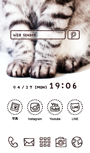可愛換裝桌布★Cat Hands