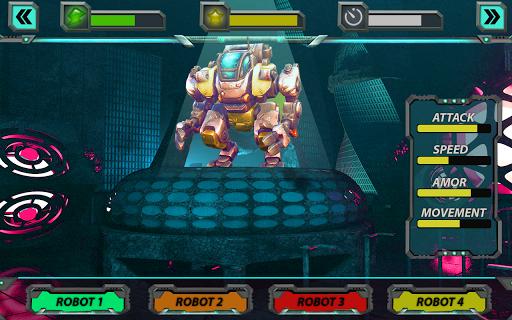 Robots de guerre de l'espace  captures d'écran 2