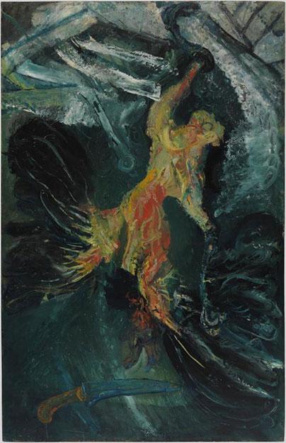 Хаим Сутин. Мёртвая птица.