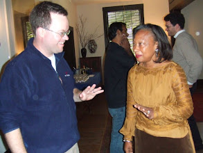 Photo: David and Pat at Women's Faculty Club