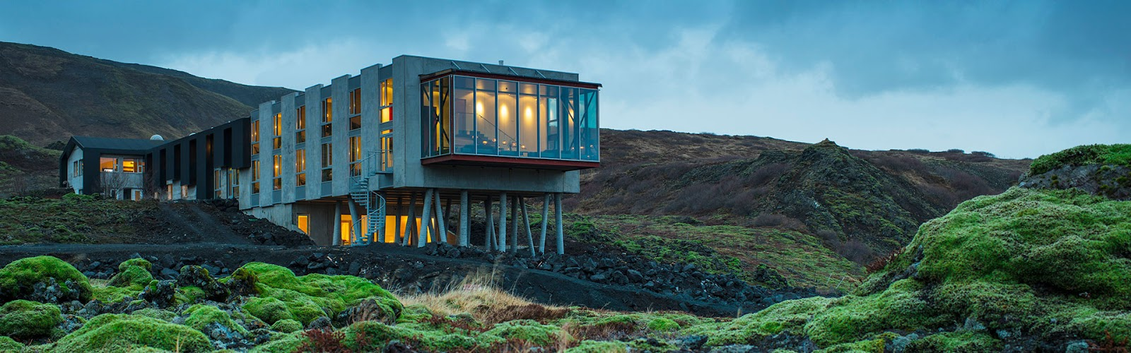 ION Adventure Hotel, Iceland, glass windows