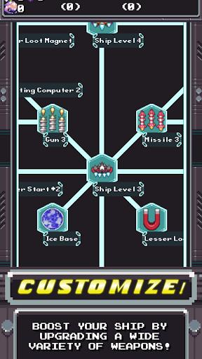 Télécharger Space Captain: Galaxy Shooter apk mod screenshots 1