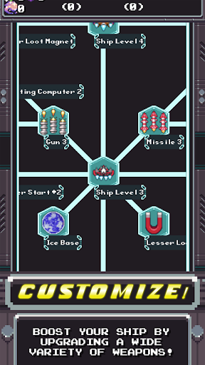 Space Captain: Galaxy Shooter 2.5.5 screenshots 1