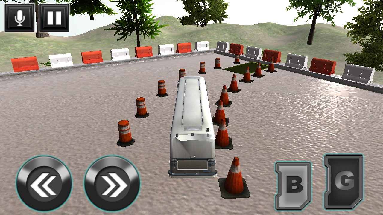 Bus Parking Driving School 3D- screenshot