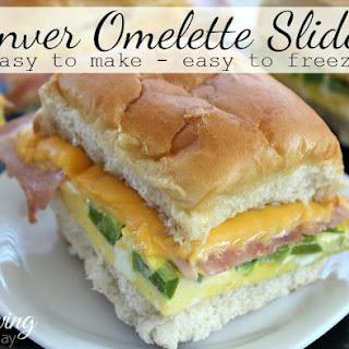 Denver Omelette Breakfast Sliders