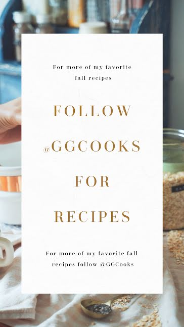 Follow Fall Recipes - Instagram Story Template
