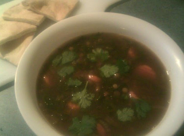 Lentil And Spinach Soup Recipe