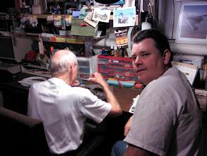 Photo: repairing parts in workshop