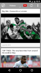 Rugby News, Videos, & Social Media - náhled