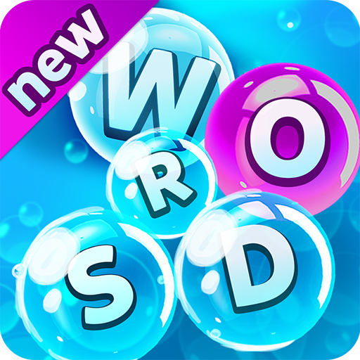 Bubble Words Game - Search and Connect the Letters