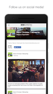 Bend Christian Fellowship- screenshot thumbnail