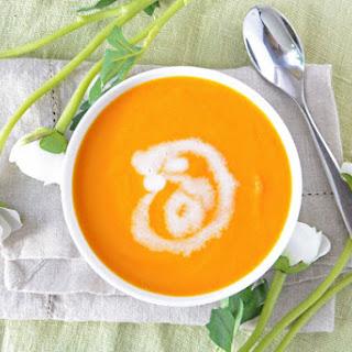 Coconut Carrot Soup.