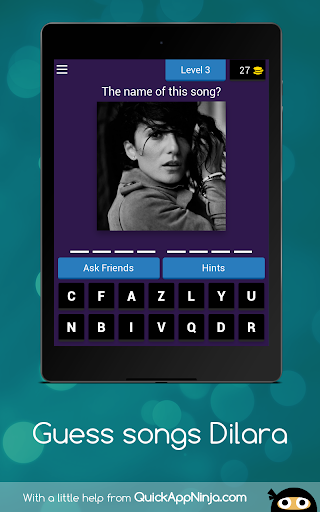 Quiz songs Dilara apkmind screenshots 13