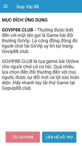 Govip - u1ee8ng du1ee5ng game bu00e0i u0111u1ed5i thu01b0u1edfng 1.0.0 2