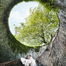 Love Unites by Joseph Goh Meng Huat - Wedding Bride & Groom ( Wedding, Weddings, Marriage )