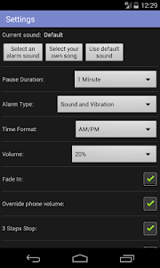 Simple Alarm Clock Free screenshot 16