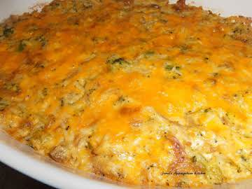 Chicken Broccoli & Rice Casserole