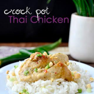 Crock Pot Thai Chicken.