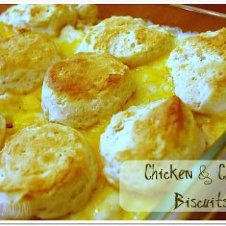 Chicken & Cheese Biscuits