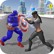 Amazing Captain Hero Fighting Fun 🥇🛡️