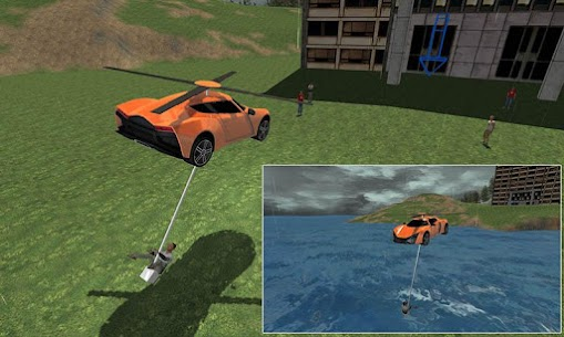 Flying Rescue Helicopter Car 2