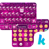 Butterfly Emoji Keyboard Theme