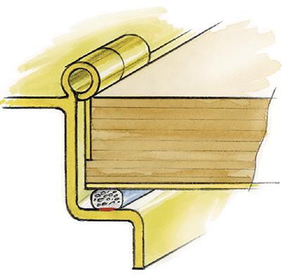Figure 45.1 : Construction of a shielded door