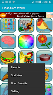 FlashCard World- screenshot thumbnail